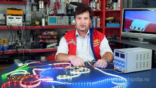 видео Как подключить светодиодную ленту к 220, различные варианты