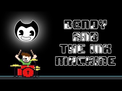 DAGames - Bendy and the Ink Machine [Build Our Machine] (Drum Cover) -- The8BitDrummer