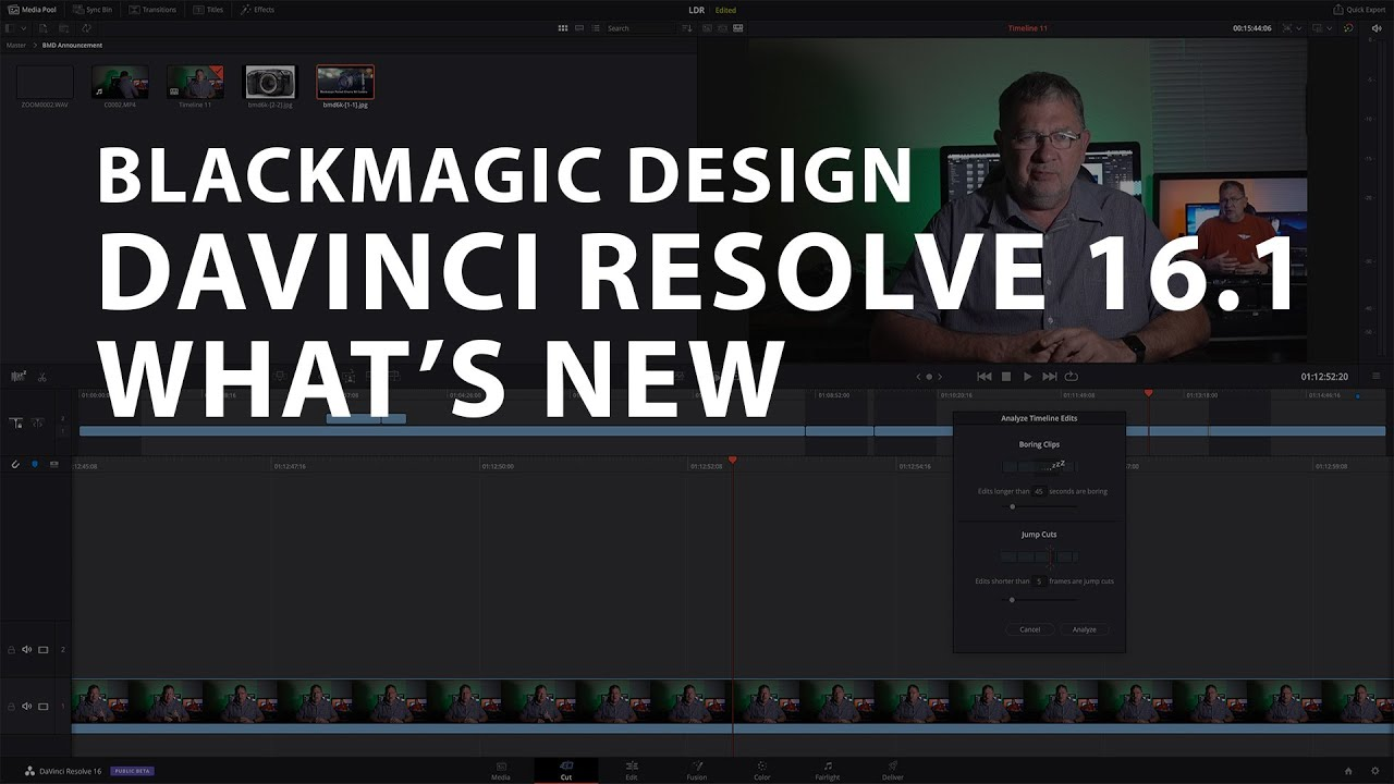 What S New In Davinci Resolve 16 1 Youtube