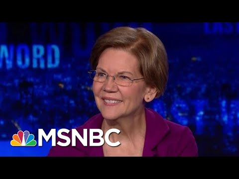 Sen. Warren On Health Care: 'I Will Sign Anything That Helps' | The Last Word | MSNBC thumbnail