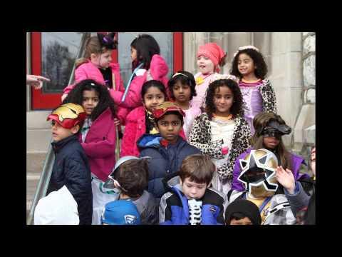 Halloween Parade 2012 Lansdale Montessori School kindergarten kids