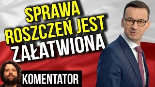 BRAWO Morawiecki Polska Jest Bezpieczna TO USA Powinno Zapłacić Odszkodowania Analiza Komentator 447