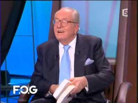 Chez F.O.G. avec Jean-Marie Le Pen le 10/02/2007