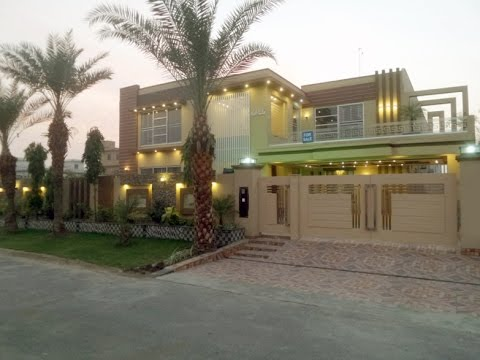 2 KANAL LUXURY BRAND NEW MODERN LOOK HOUSE FOR SALE IN WAPDA TOWN LAHORE