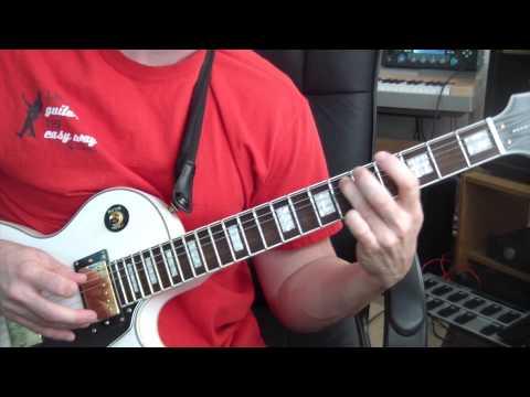 Marilyn Manson - Sweet Dreams - Guitar Tutorial (HALLOWEEN GUITAR LESSONS!)