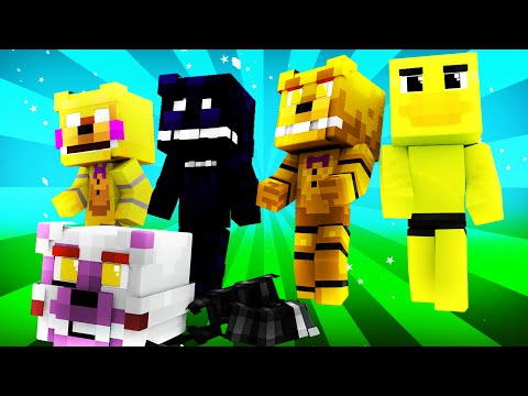 FNAF World - Night 5 (Minecraft Roleplay)