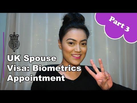 UK Spouse Visa 2018 - PART 3: Biometrics Appointment - YouTube
