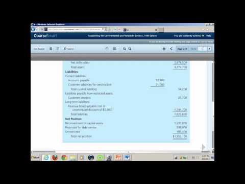 Gov't & Not For Profit Accounting - Enterprise Funds
