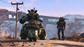 Fallout 4 Automatron - Начало игры