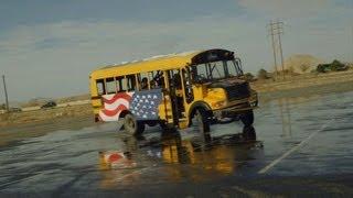 Nitro Circus - Bus Drifting