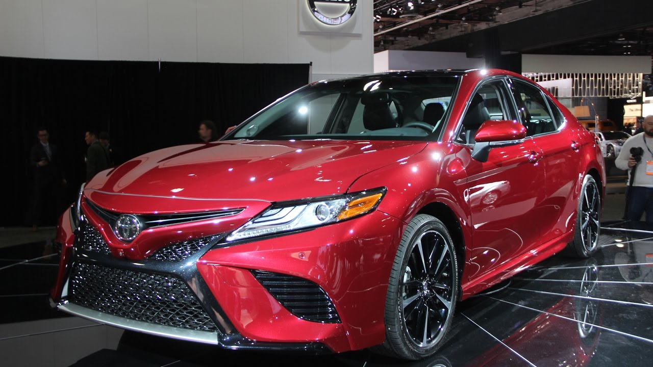 Toyota Camry First Look Detroit Auto Show YouTube - Car show detroit 2018