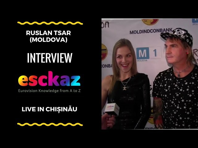 ESCKAZ in Chișinău: Ruslan Tsar - Come To Life (interview)