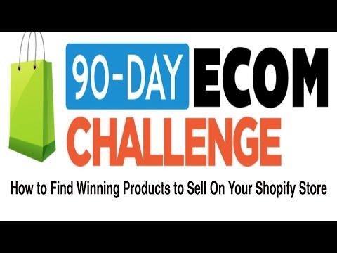 Tecademics, Chris Record E-commerce 90 day challenge, day 1