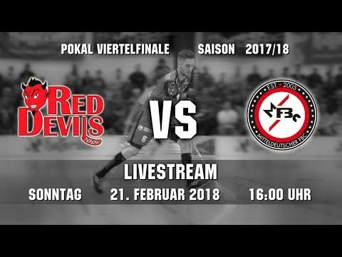 Floorball Pokal-Viertelfinale 2018: Red Devils Wernigerode - MFBC Leipzig (21.01.2018 / 16:00)