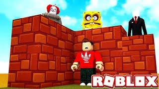 NEW BUILD TO SURVIVE THE HORROR IN ROBLOX!