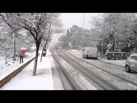 Neve ad Olbia 12\02\2012
