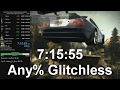 NFS Most Wanted Speedrun - any% glitchless 7:15:55