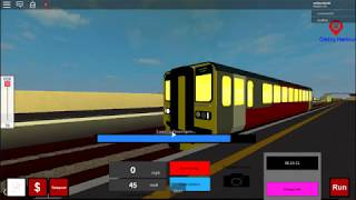 Roblox - (Trainlines V3) - North Bank Central à Glitchry Habour
