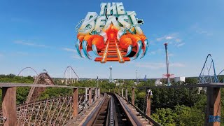 The Beast Roller Coaster (POV) - 4K Cinematic Series Kings Island