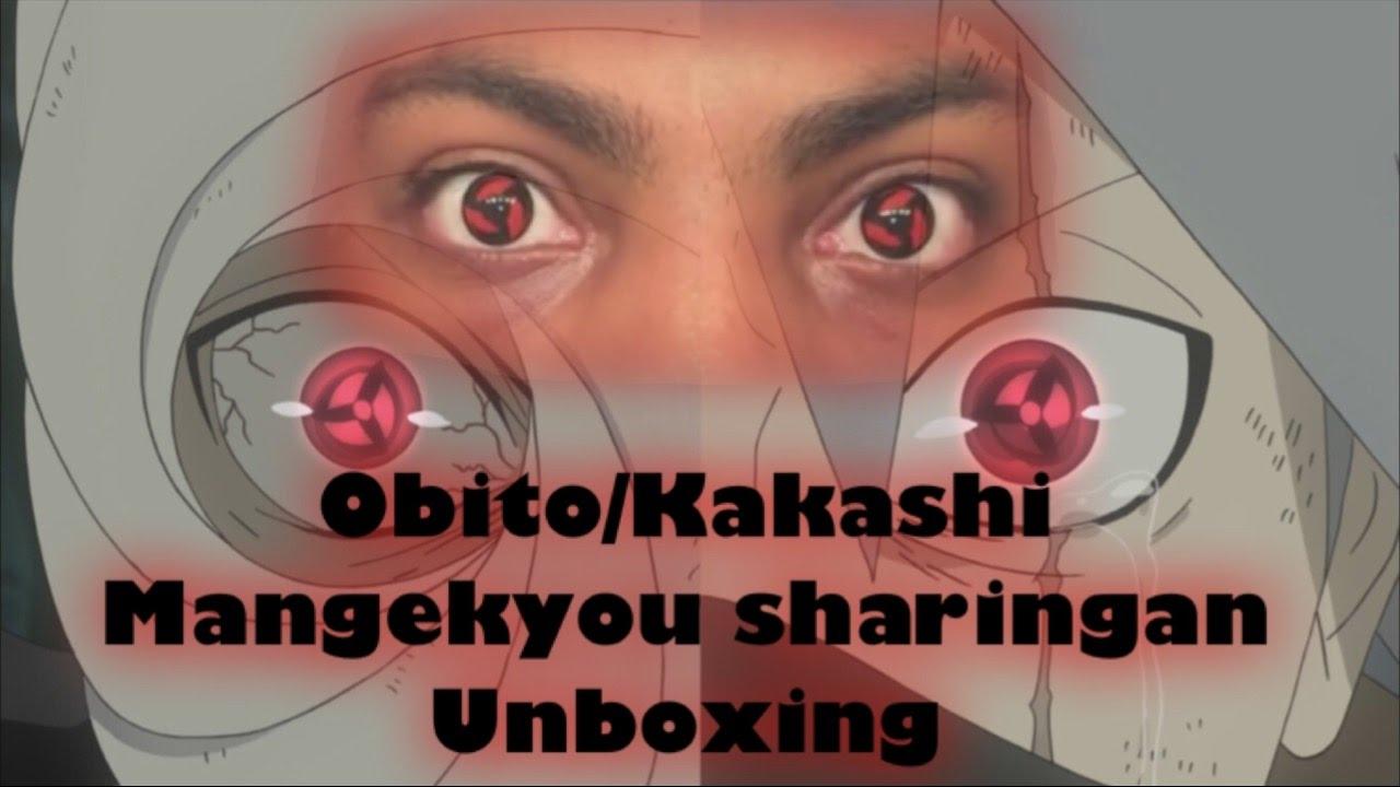 Obito Kakashi Sharingan Contacts Unboxing Youtube