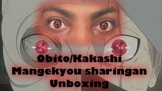 kakashi avec deux sharingan