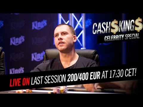 CELEBRITY CASH KINGS [DE] 4/4 NLH €200/€400