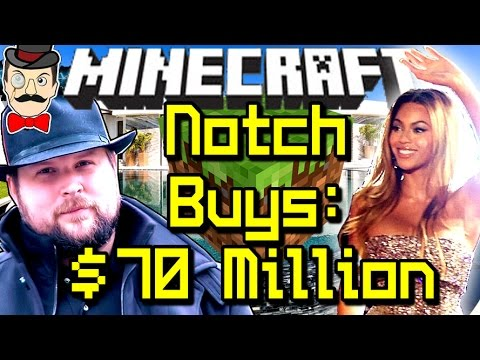 minecraft notch buys most expensive house ever beyonc beverly hills 70 million youtube. Black Bedroom Furniture Sets. Home Design Ideas