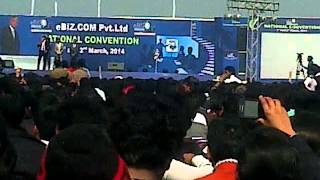 samir rathi ji message on national convention stage 2 march 2014....