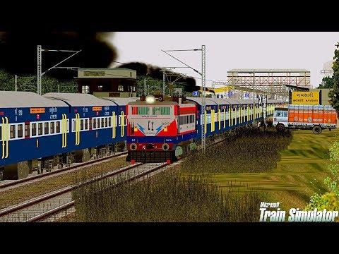 Jamnagar-Tirunelveli Express | VTA WDM3D | MSTS Open Rails PART-1