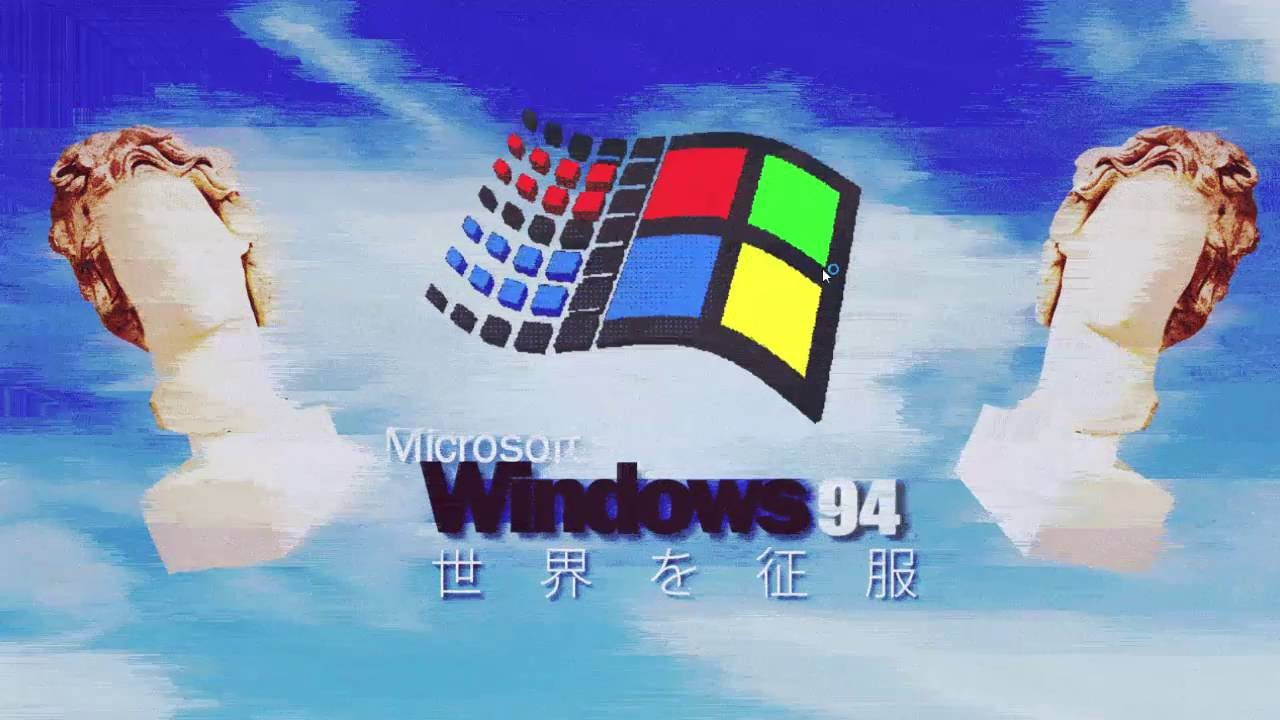 windows 94 simulator a vaporwave experience youtube