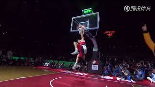Best CBA Chinese Dunk Contest to date, 2017/2018 - winner 40 inch vertical