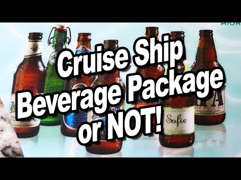 Cruise Ship Beverage Package Or NOT! 🍹🛳️ Golden Princess Cruise To Alaska