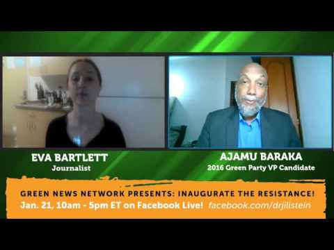 Ajamu Baraka and Eva Bartlett