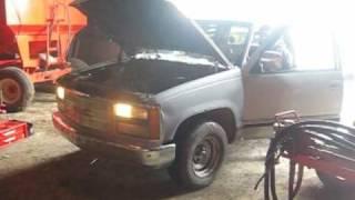 1990 GMC Truck Engine Blow.