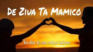 De ziua ta mamico - Instrumental/Karaoke/Negativ