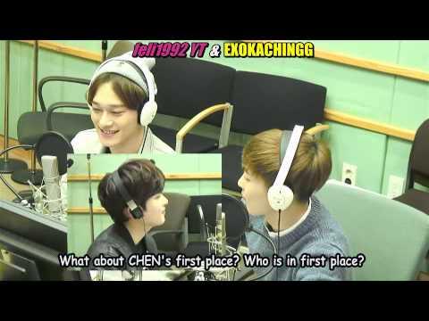 [ENG] 150129 FULL Sukira SLine Chartshow EXO Xiumin & Chen