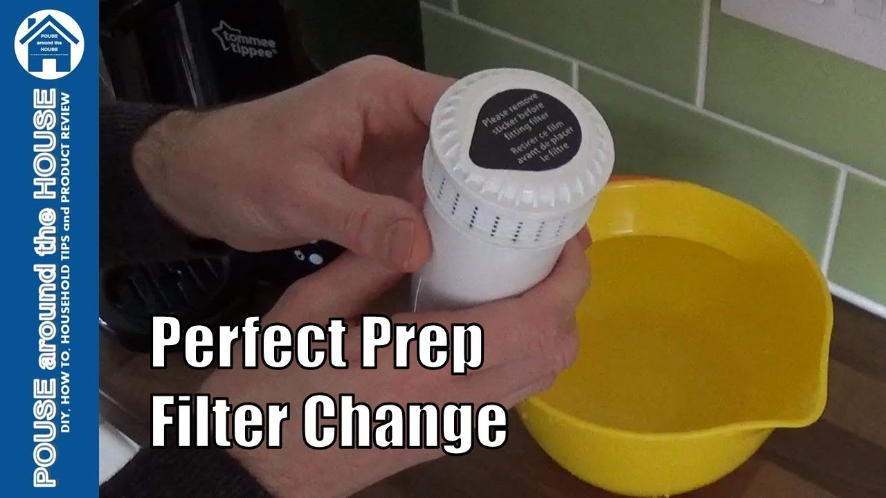 Perfect Prep Machine Filter Change How To Replace Filter Tommee