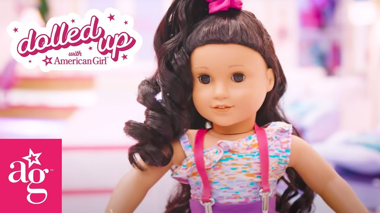 Get Ready with Style Fashionista Ava | Dolled Up With American Girl | @American Girl