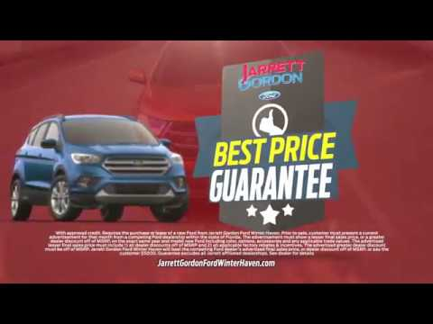 If You Want The Best Price Then At Jarrett Gordon Ford Winter Haven