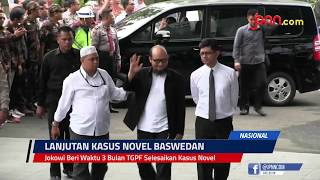 Jokowi Beri Waktu 3 Bulan TGPF Selesaikan Kasus Novel