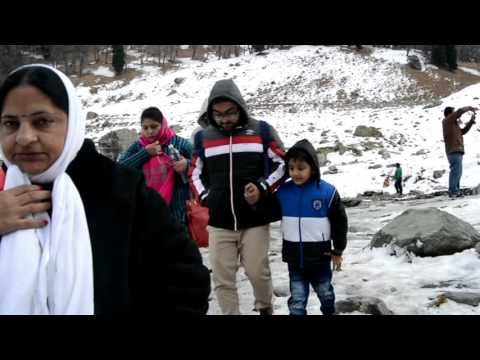 Pahalgaon-Srinagar-Covered with Snow