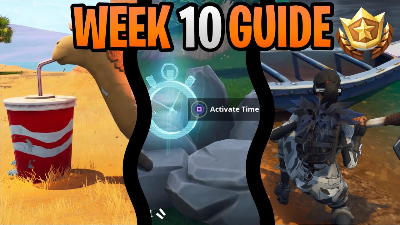 Fortnite Season 6 Week 10 Challenges Guide Vehicle Time Trials
