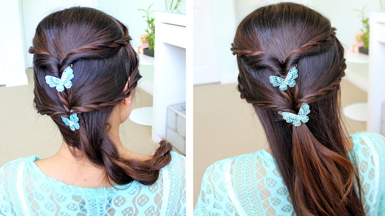 fancy rope braid -updo hairstyle