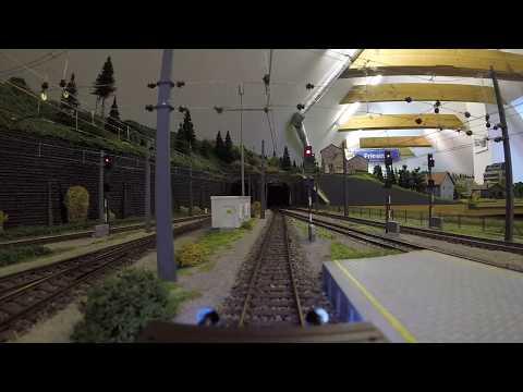Videofahrt auf meiner Modelleisenbahn #1