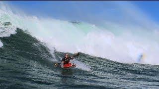 Big wave kayaking - Tao Berman 2012
