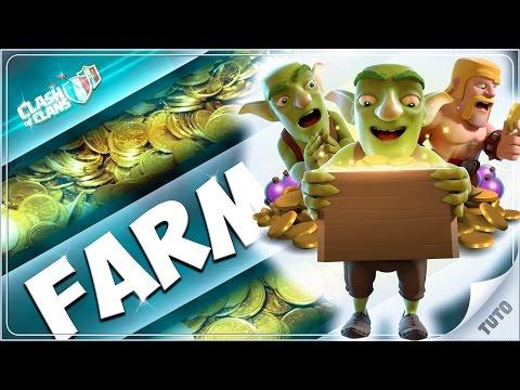 APPRENEZ A FARMER 1 à 2 MILLIONS DE L'HEURE avec le meilleur farmer FR sur Clash of Clans