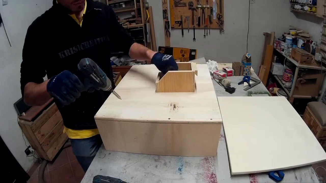 How to make a wood shoes rack scarpiera in legno fai da for Youtube legno fai da te