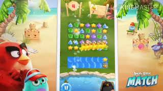 Download Angry birds MATCH   for Android and iOS gameplay تحميل