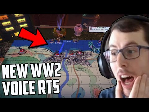 This New WW2 Strategy Game Will Wear Out Your Voice! (Radio General)