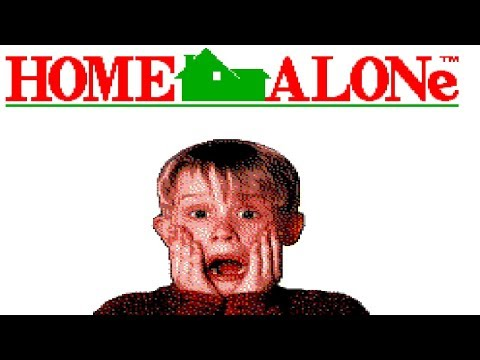 Let's Play Home Alone (Sega Master System) - This Is a Strange Game